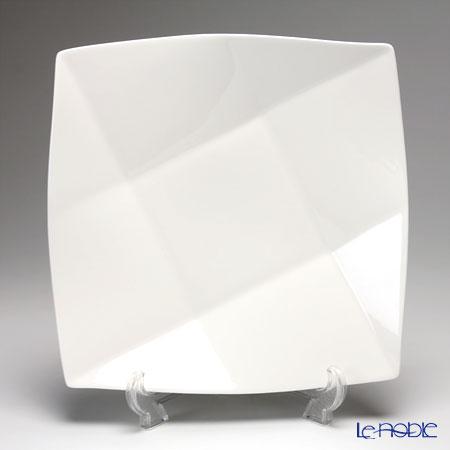 プリモビアンコ 白の器 スクエア ディーププレート(L) 27cm