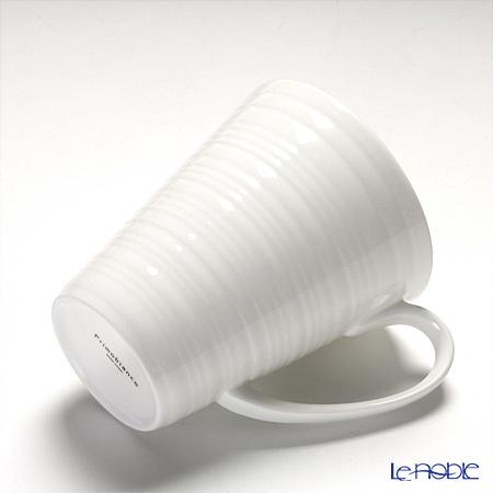 プリモビアンコ 白の器マグ(ウェーブシェイプ)