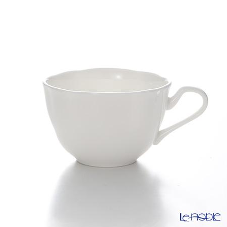 プリモビアンコ 白の器 ティーカップ(フラワーシェイプ) ソーサーなし
