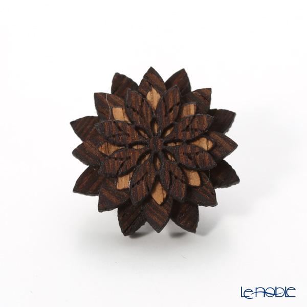 BeWooden LF4 ピンバッジ Deco Flower