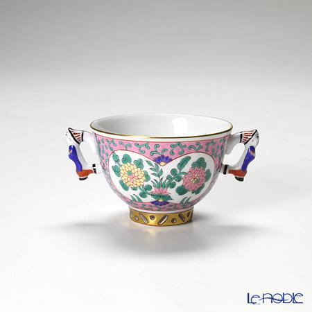 ヘレンド エミールローズ シュガーカップ(マンダリン)