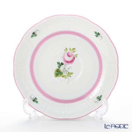 ヘレンド ウィーンのバラ ピンク 00724-0-00ティーソーサー