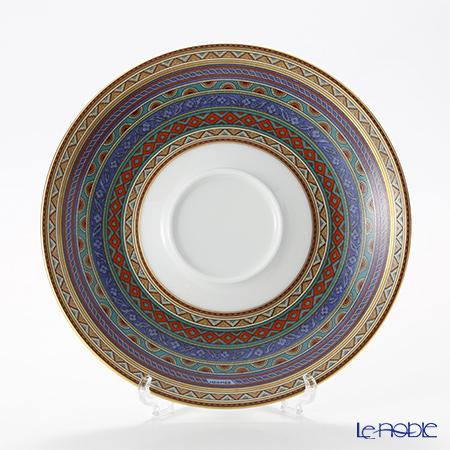 エルメス(HERMES) シュヴァルドリアンティーソーサー 230ml 用 青