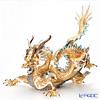 リヤドロ 臥龍(GOLD) HIGH PORCELAIN01973 台座付