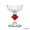 Baccarat 'Harcourt 1841' Red Lacqered 2814393/2814393 Champagne Coupe 170ml (set of 2)