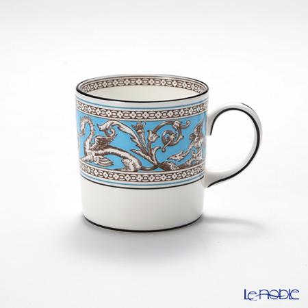 ウェッジウッド(Wedgwood) フロレンティーン ターコイズコーヒーカップ(キャン) 170cc