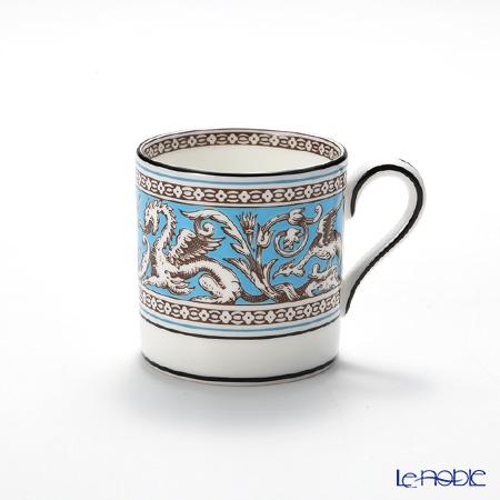 ウェッジウッド(Wedgwood) フロレンティーン ターコイズコーヒーカップ(ボンド) 100cc