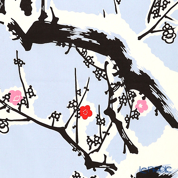Eirakuya 'Kan Bai / Plum Tree in Winter (Snow)' Tenugui / Japanese Hand Towel 36x91cm