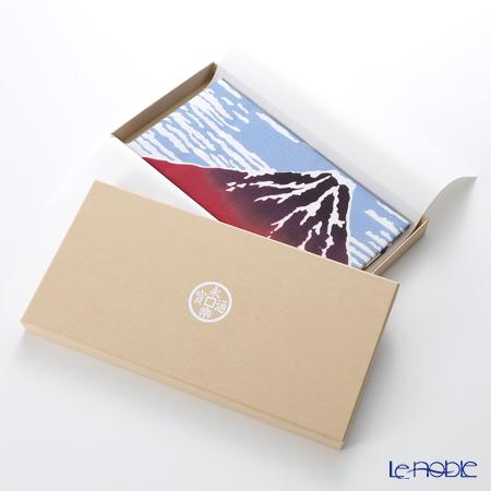Eirakuya x Katsushika Hokusai 'Gaihuu Kaisei / Fine Wind, Clear Morning (Red Mt. Fuiji)' Tenugui / Japanese Hand Towel 91x36cm