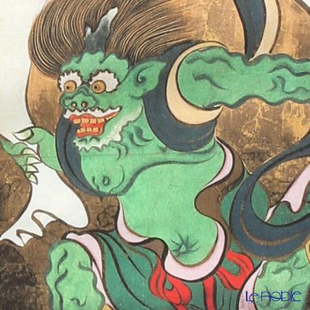 Eirakuya x Ogata Korin (Tokyo National Museum) 'Fu-jin Rai-jin / Wind & Thunder Gods' Tenugui / Japanese Hand Towel 91x36cm