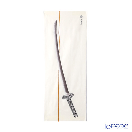 Eirakuya 'Katana / Japanese Sword' [Reprint of early 1900] Tenugui / Japanese Hand Towel 36x91cm