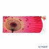 Eirakuya 'Kasa ni Momiji / Umbrella & Autumn Leaf' Pink Red Tenugui / Japanese Hand Towel 91x36cm