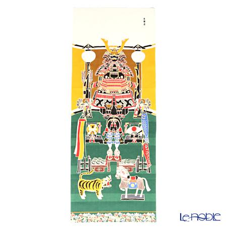 Eirakuya 'Yoroi Dan Kazari / Samurai Armar (Boy's Festival) Tenugui / Japanese Hand Towel 36x91cm