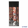 Eirakuya 'Kaede Ishi Datami / Red Autumn Leaf & Stone Pavement' Black Tenugui / Japanese Hand Towel 36x91cm