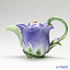 Franz Collection 'Periwinkle (Flower)' FZ00990 Sculptured Tea Pot
