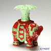 Franz Collection Xiang Candleholder Coral and Green, Left JB005310G