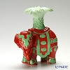 Franz Collection 'Elephant - Right (Animal)' Red Green JB005320G Sculptured Candle Holder H19cm