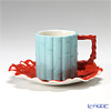 Franz Collection 'Time Flower' JB00797 Sculptured Coffee Cup & Saucer