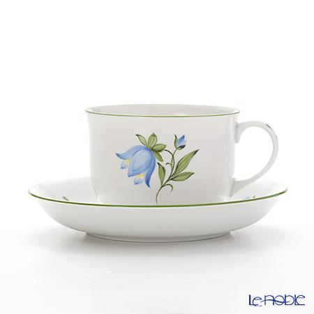 アウガルテン(AUGARTEN) ウィンナーフラワー(5089L) ブルーベル コーヒーカップ&ソーサー 0.2L(001)