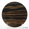 Luzerne 'Noche' Black / Gold NC5132BG Plate 30cm