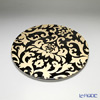Luzerne Boutique 30.5 Cm plate black / gold DL5132BG