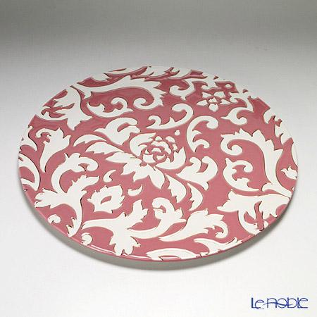 ルザーン ニューボーン ディーバ ロータス プレート 30.5cm ピンク/ホワイト DL5136FP