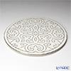 Luzerne newborn grace Show plate 31 cm white / gold GR5130WG