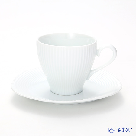 Luzerne 'Scallop' IS1534014 Coffee Cup & Saucer 170ml
