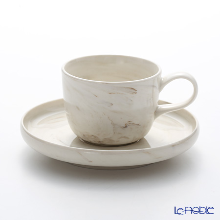 Luzerne 'Marble' MB5010/5113 Espresso Coffee Cup & Saucer 128ml