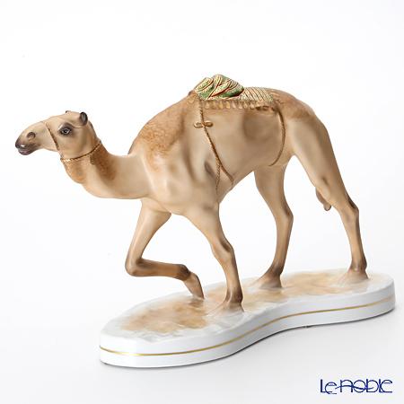 AMIRA 陶磁器製フィギュリン ラクダ 砂漠の舟 【ル・ノーブルオリジナル企画作品】