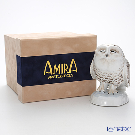 Le Noble Special Edition - Amira Snow Owl Statue / Bubo Scandiacus [Limited Edition 12 pcs.]