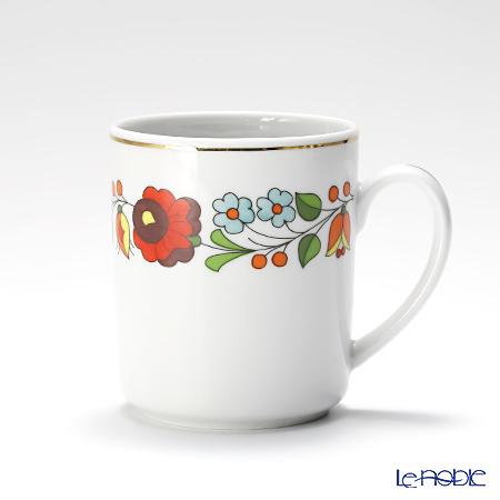 カロチャ刺繍柄陶器 215031マグ 300cc