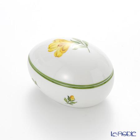 Augarten 'Wiener (Viennese) Flower' Crocus Yellow Lying Egg Box H5cm