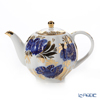 Imperial Porcelain Golden Garden Tea Pot (Tulip) 600cc