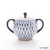 Imperial Porcelain Cobalt Net Tulip Sugar Bowl 300 cc