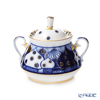 Imperial Porcelain / Lomonosov 'Russian Domes - Radial' Sugar Pot 440ml