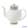 Imperial Porcelain / Lomonosov 'Cobalt Net Blue - Wave' Tea Pot 800ml