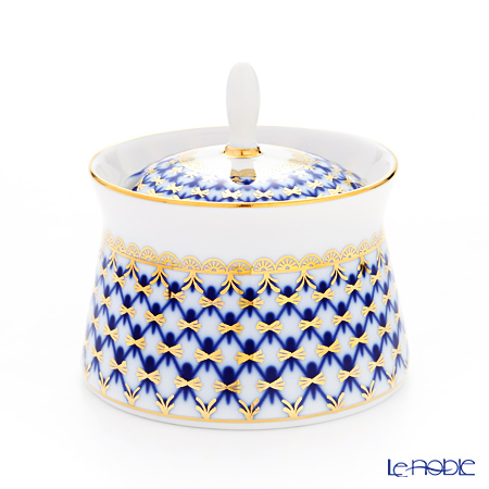Imperial Porcelain Cobalt Net Youth Horseradish Box 200 ml