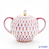 Imperial Porcelain Blues Pink Net Sugar Bowl 300 ml
