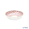 Imperial Porcelain / Lomonosov 'Red Net' Jam Dish 9.5cm