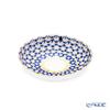 Imperial Porcelain Cobalt Net Tulip Jam Dish 95 mm