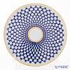 Imperial Porcelain Cobalt Net Dish for Cake 300 mm