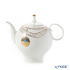 Imperial Porcelain Golden Medallion Teapot (apple)