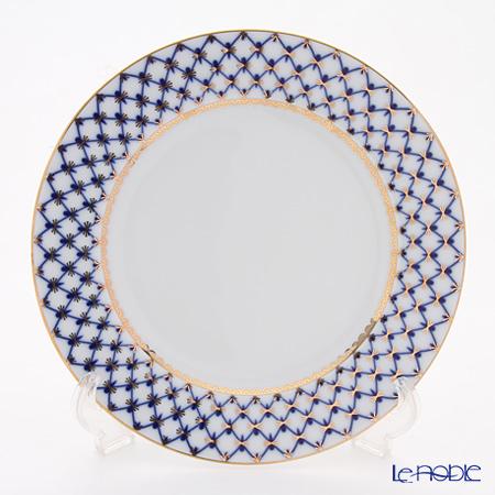Imperial Porcelain Cobalt Net Plate 10.6