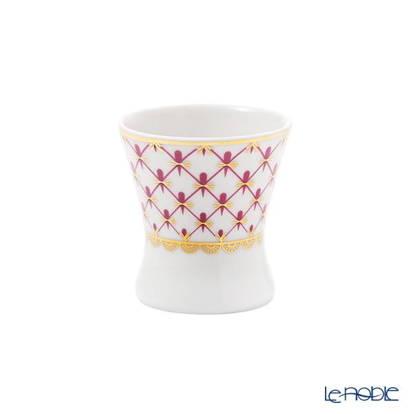 ロシア食器 インペリアル・ポーセリン ブルース(ピンクネット)ミニカップ 40ml