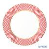 Imperial Porcelain / Lomonosov 'Scarlett' Red Plate 26.5cm