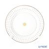 Imperial Porcelain / Lomonosov 'Scarlet Azur' Gold Plate 20cm