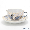 Russia kitchen Imperial porcelain Moon Tea Cup & Saucer 250 cc