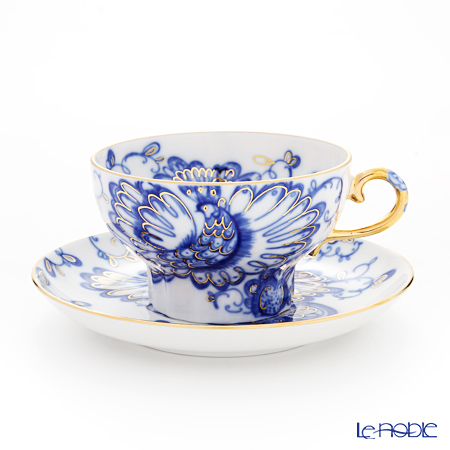 Imperial Porcelain Singing Garden Marquee Tea cup with Saucer 230 ml