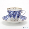 Russia kitchen Imperial porcelain bridesmaid Tea Cup & Saucer (radial) 250 cc